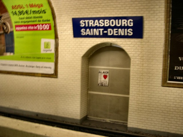 Strasbourg st denis paris subway station flickr - Lidl strasbourg saint denis ...