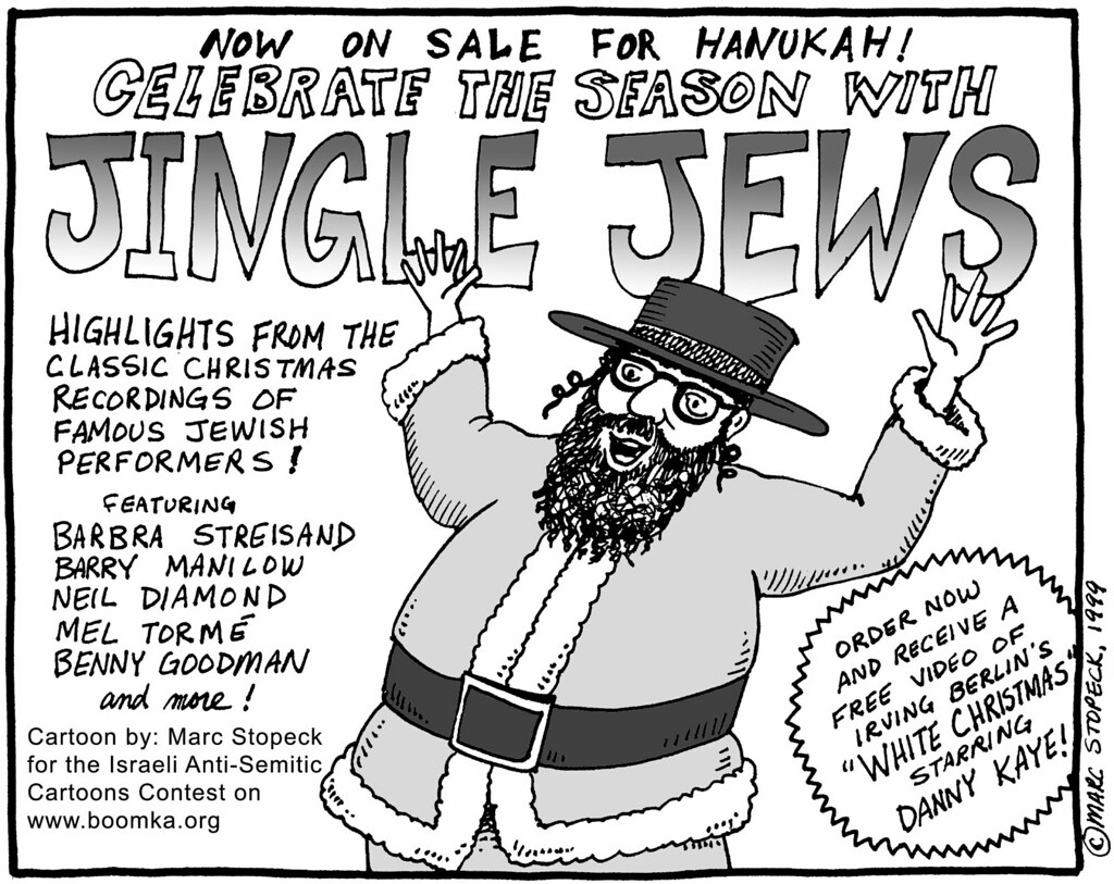 Image result for Anti-Semitism CARTOON