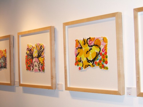 "Two of the Artifacts from the ""Cracking Up"" show by Tom Everhart 