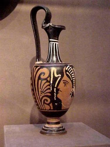 Red Figured Greek Oinochoe 5th Century Bce Terracotta Flickr