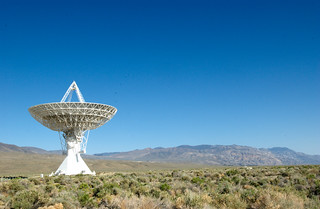 Radio Telescope in the desert | by ask
