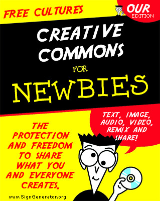 Creative commons for newbies book cover make your for For dummies template book cover