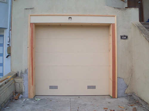 new garage door it goes up and down todd lappin flickr