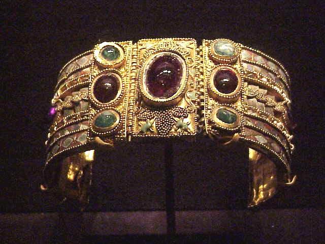 Bracelet From The Olbia Treasure Hellenistic Greek Late 2n