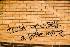 trust yourself a little more | by lonely radio