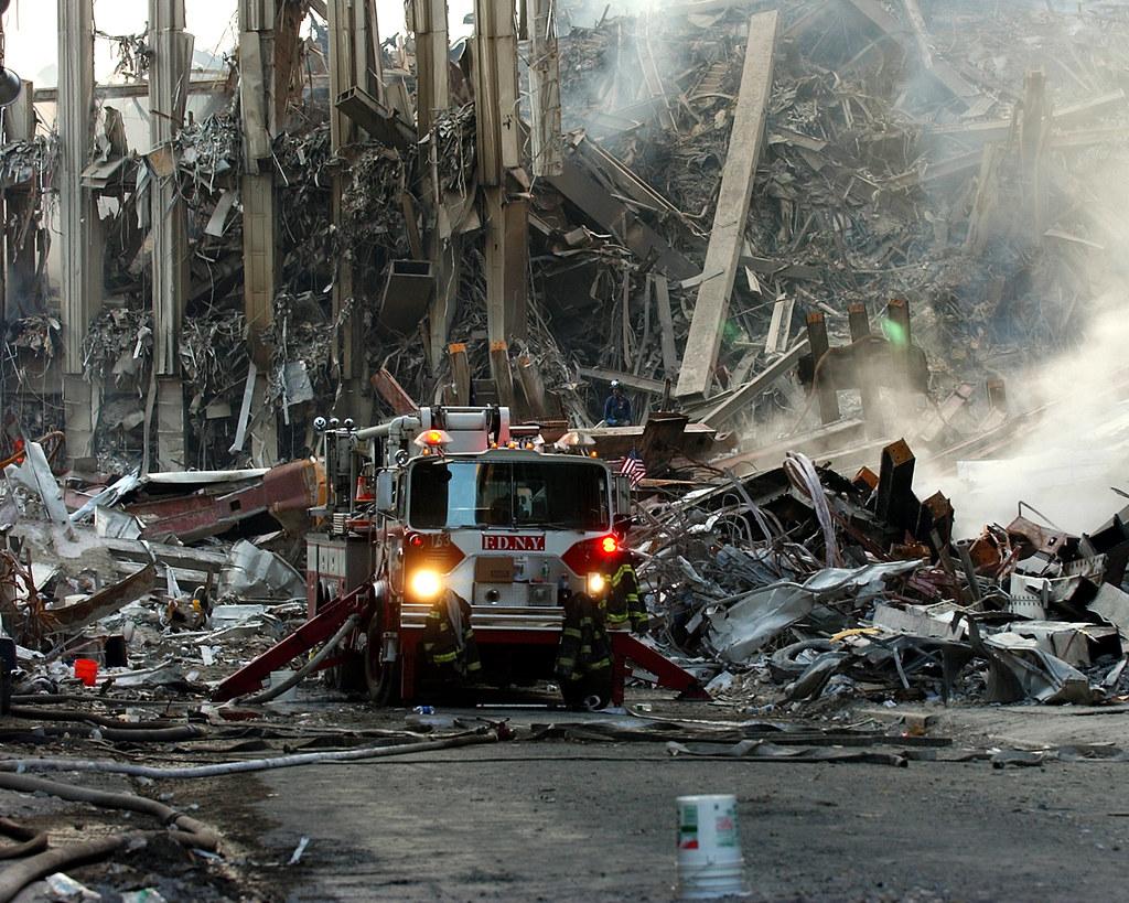 Ground Zero, New York City, N.Y. (Sept. 16
