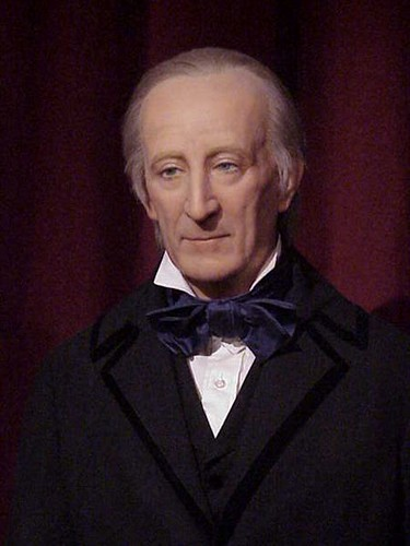 John Tyler Photographed At The National Presidents Wax