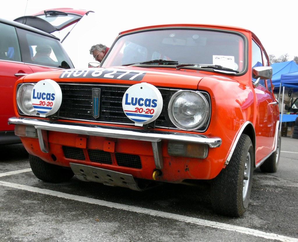 Orange Rally Mini Clubman | Taken at Brooklands mini show 20… | Flickr