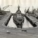 Hunter's Point, USS Iowa in Drydock 4, July 1953