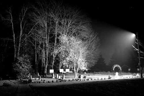 The cemetery at night (II) | by quas