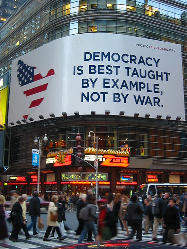 Democracy in Times Square | by psd