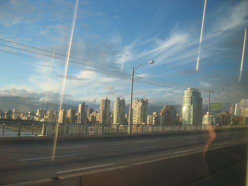 View from the Granville Bridge | by roland
