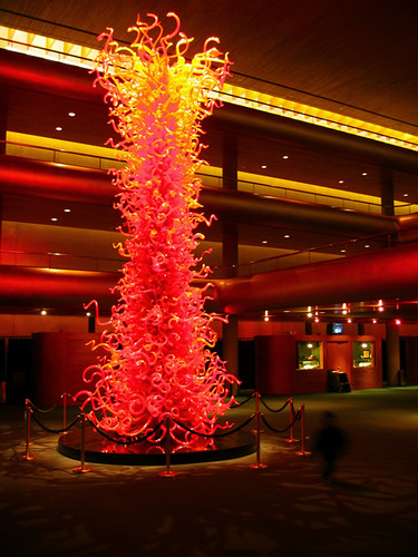 Olympic Tower Dale Chihuly Sculpture In Abravanal Hall