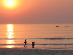 Sunset at Colva Beach | by Dey