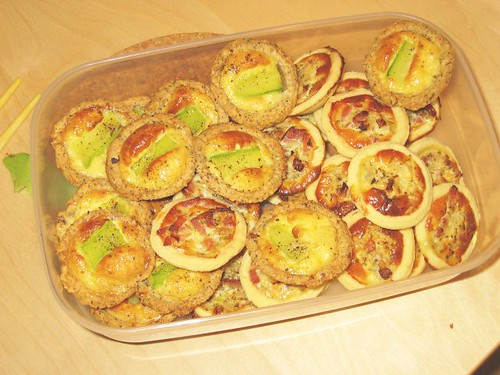 Tartlettes: Zucchini & Quiche | by yashima