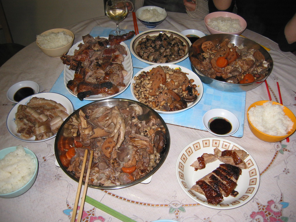 Chinese Christmas Dinner Well I M Not Saying It S What