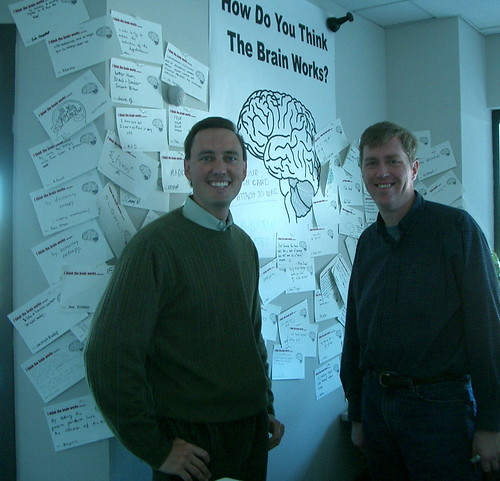The Brainstorm Wall | by jurvetson