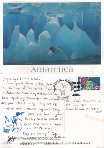 the postcard project: Amundsen-Scott South Pole Station, Antartica. | by snowdeal