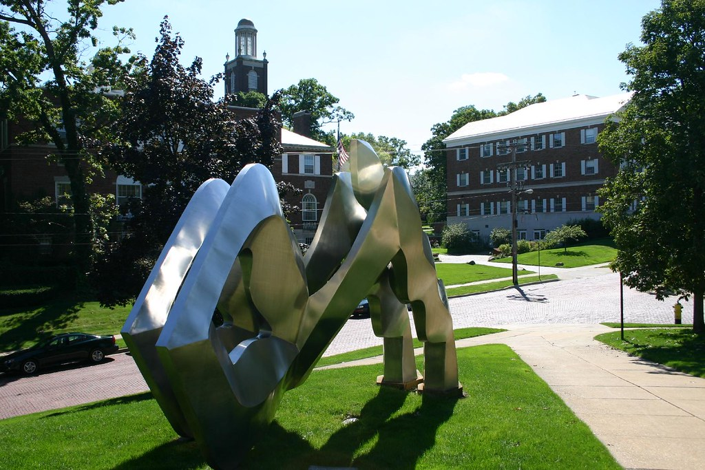 Kalamazoo College Statue This Statue Is Outside Of The