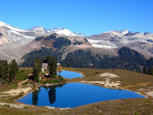 Classic View Of Elfin Lakes And Opal Cone Opal Cone And