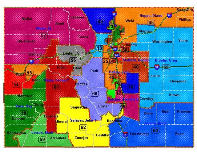 map of central colorado aspen
