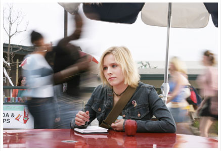 Veronica mars sitting alone at lunch | GGarchive | Flickr