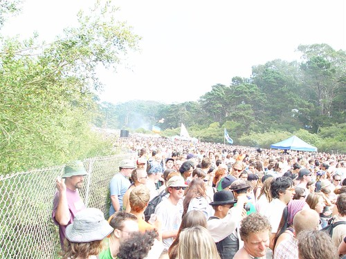 The huge crowd at Power to the People Festival - Golden Gate Park 2004 | by Kris Krug