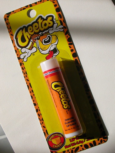Cheetos LipBalm | by fortune cookie