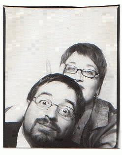 steve & me at the warhol museum | by judith