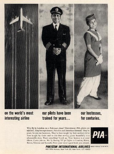 PIA print ad 1962, Pakistan | by PakPositive