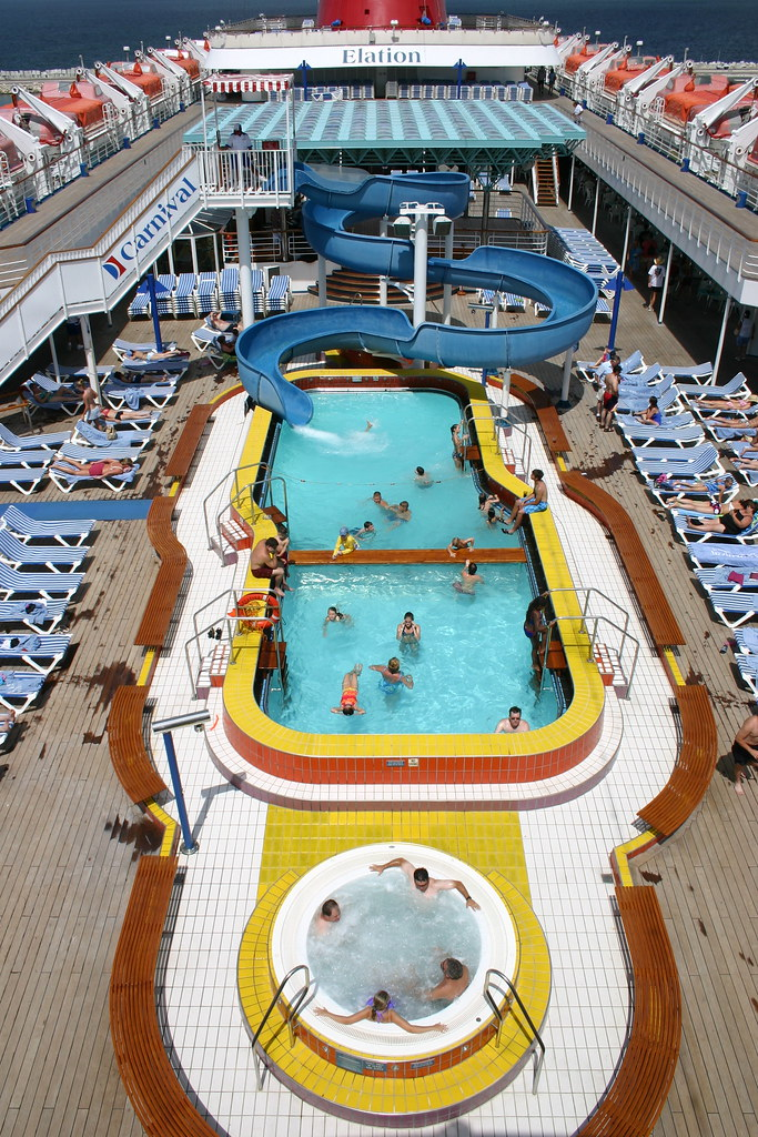 carnival elation main pool  main pool