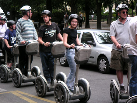 Walking Wheels See Paris In Style The Latest Tour Of