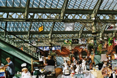 Flea market at restored Tynemouth subway station | by William Aris