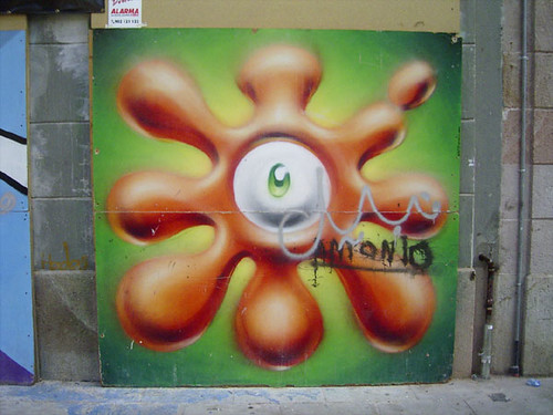 bcn graffiti eye | by duncan