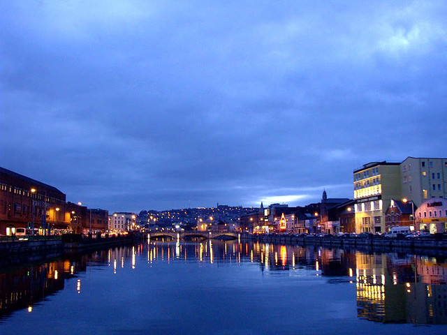 Cork at night