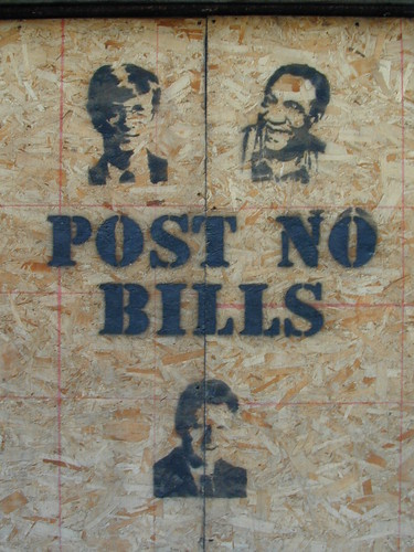 POST NO BILLS {notes} | by striatic