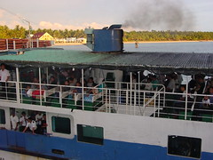 ferry boat ride to bantayan island | by adlaw