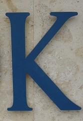 One Letter / K