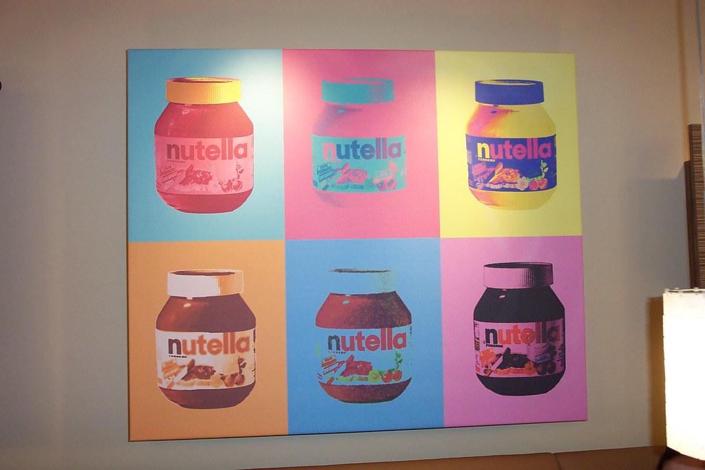 Nutella Art Warhol If Andy Warhol Had Done Nutella