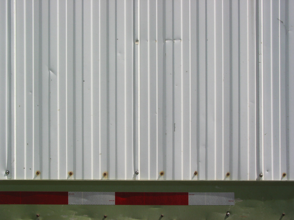 Trailer Siding Metal Siding And Reflective Warning Tape