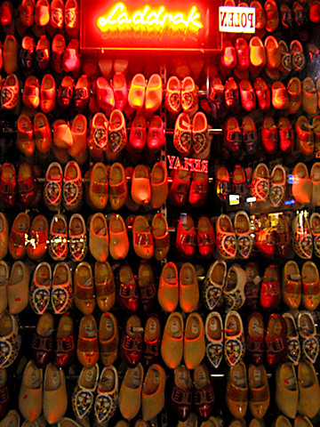 Wooden Shoe Display, Amsterdam | by panopticon