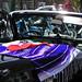 Buick and purple poncho
