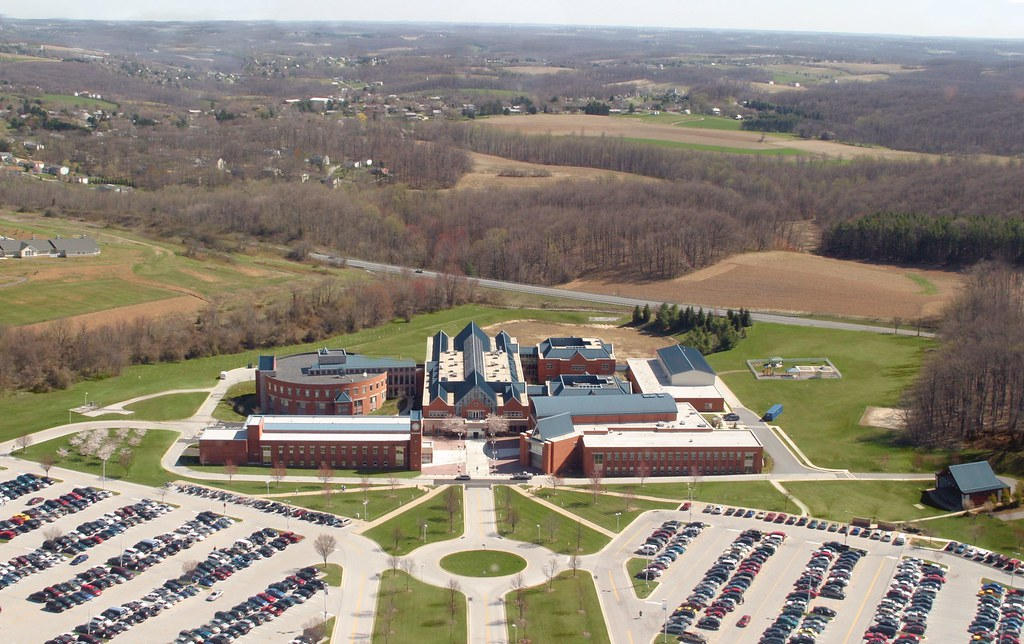 Carroll Community College aerial view   Photo taken by co-wo…   Flickr