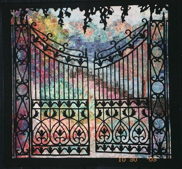 Park Gates Quilt By Dilys Fronks Uk Shown At The