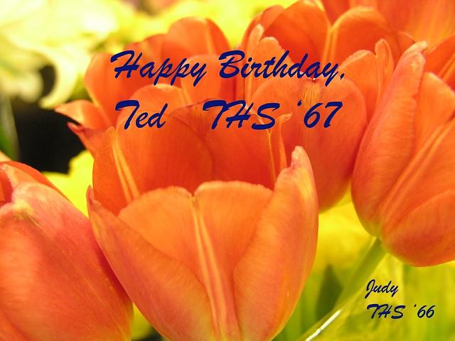 Happy Birthday Ted Cake