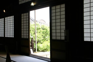 Looking out of a Buddhist Temple | by timtak