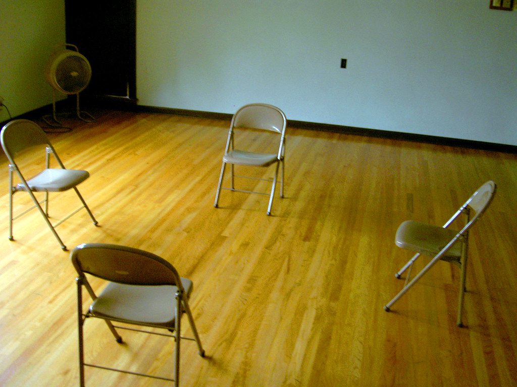 Empty Room Chairs