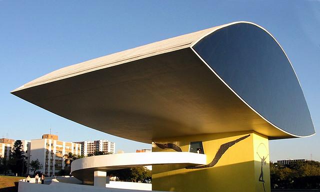 MON | Museu Oscar Niemeyer, Curitiba - PR - Brasil Oscar ...