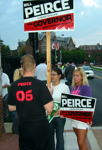 Bill Peirce supporters at UC Debates | by Stephen VanDyke
