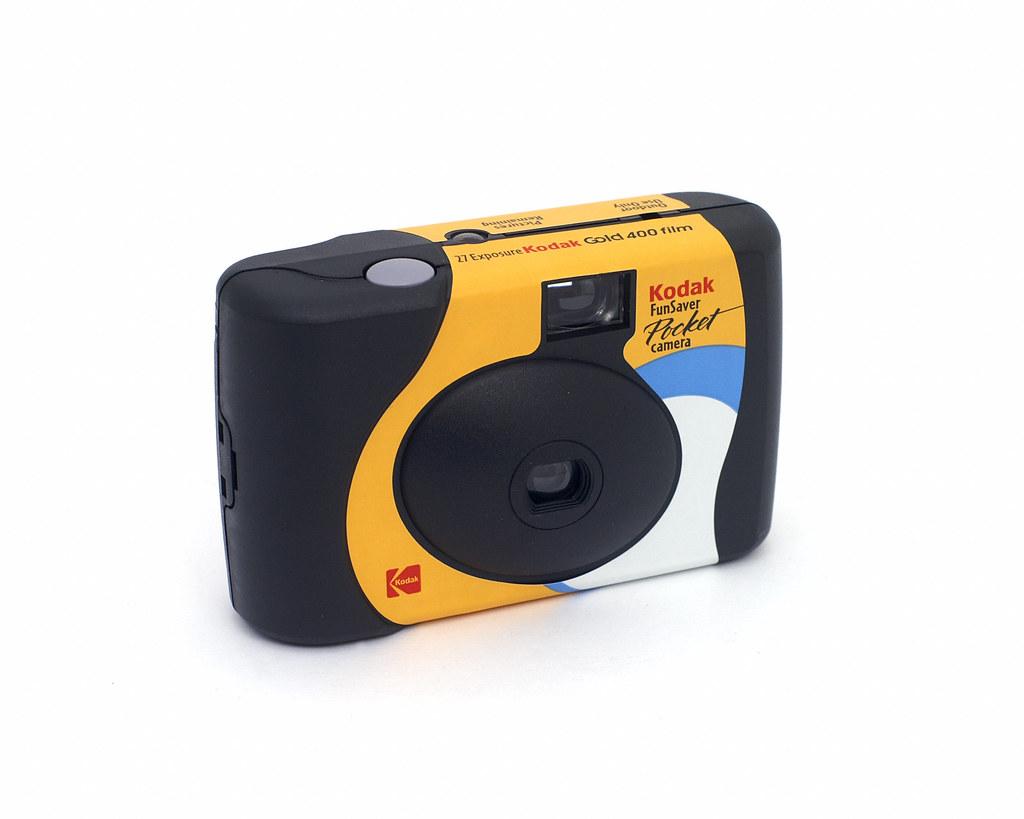 Kodak Funsaver Pocket Disposable 35mm Camera